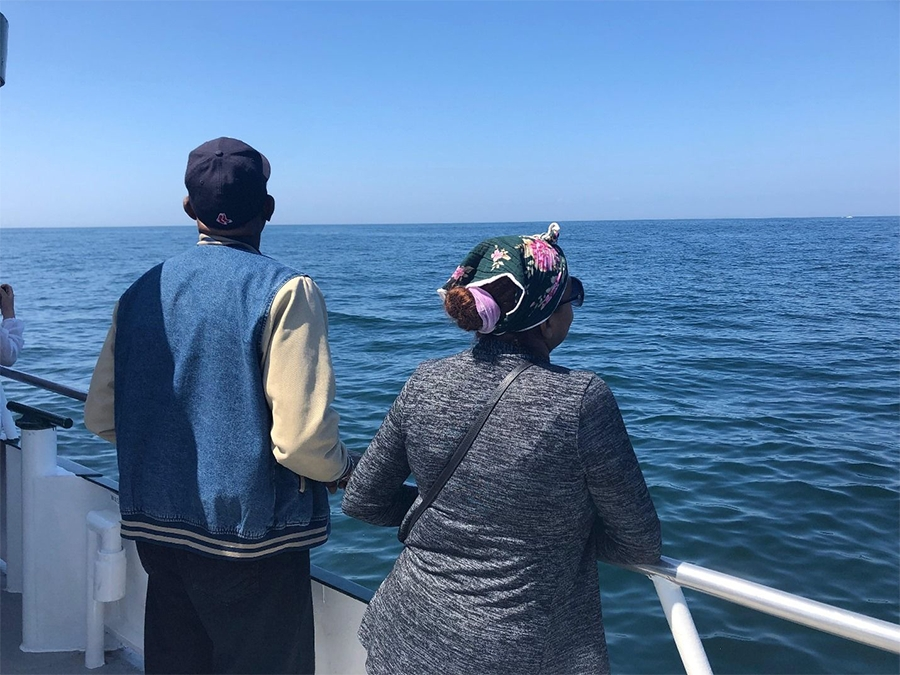 NOAA and HAF Hold Whale Watch Tour at Stellwagen Bank National Marine Sanctuary for Latino Families in Celebration of Latino Conservation Week